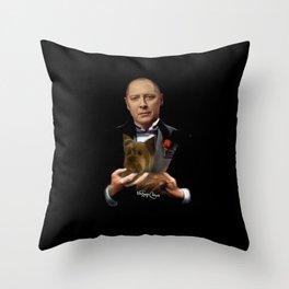 Raymond Reddington - Godfather Throw Pillow