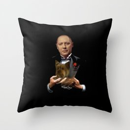 Raymond Reddington - Godfather Throw Pillow
