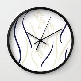 Filly Shut Wall Clock