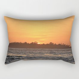 Tybee Island Sunset Rectangular Pillow
