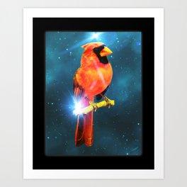 Cardinal Spirit Art Print