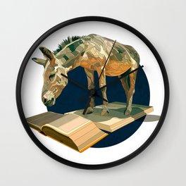 Donkey Wall Clock