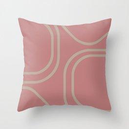Close To You - Mid-Century Modern Throw Pillow