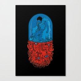 Cyberpunk Experiment Canvas Print