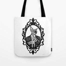 Hipster Sphynx Tote Bag