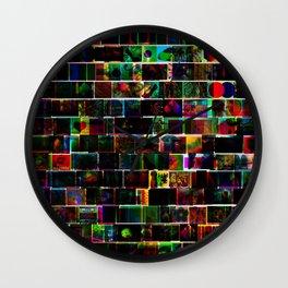 CMY Google Image Results Wall Clock