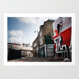 Ben Eine, London 2010 Art Print