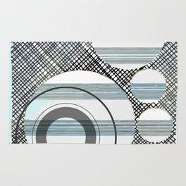 Collage: Singing Circles Rug