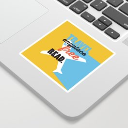Travel - Just Read Sticker