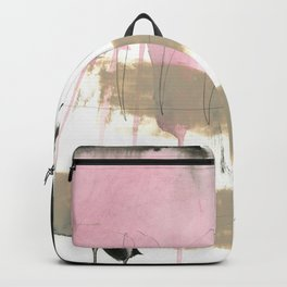 abstract painting XII Backpack