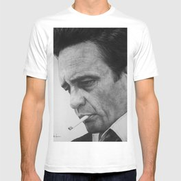The Man in Black T-shirt