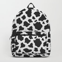 Cow Print Backpack