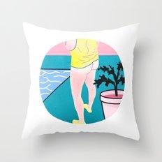 Butt series #3 Throw Pillow