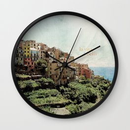 la vita è bella Wall Clock