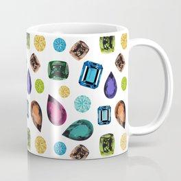 Gemstones (White) Coffee Mug
