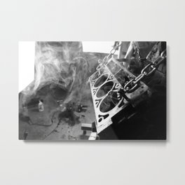 The man cave Metal Print