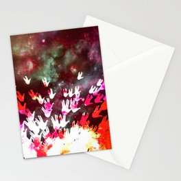 H.E.L.L.O. / red Stationery Cards