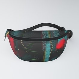 Sugar Mountain Black Fanny Pack