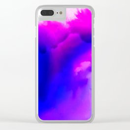 Abstract Bliss 1 by kathy Morton Stanion Clear iPhone Case