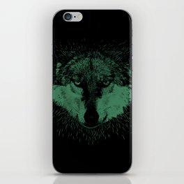 Wolf Head Animal iPhone Skin