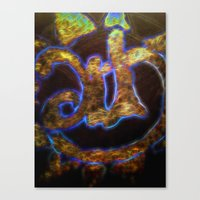art history Canvas Prints featuring art history by neonflash by neonflash