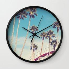 Feels Like Summer - Santa Cruz Wall Clock