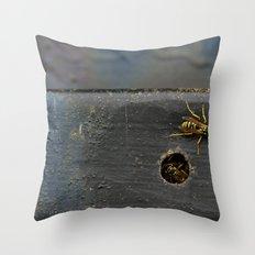 Yellow Jackets Throw Pillow