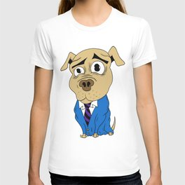 Worried Dog T-shirt