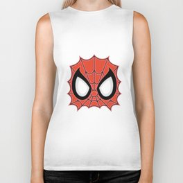 Spider Man Mask Biker Tank