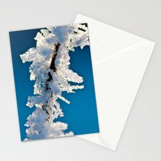 Iced Twig Stationery Cards
