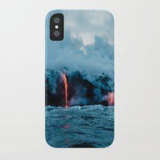 Volcano #ocean iPhone X Slim Case