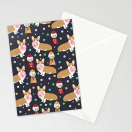 Corgi welsh corgis gumball bubblegum cute dog breed corgis pet gifts Stationery Cards