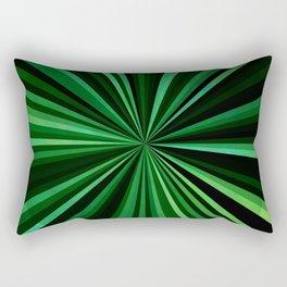 North Texas Green Sun Rectangular Pillow