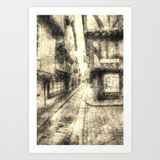 The Shambles York Vintage Art Print