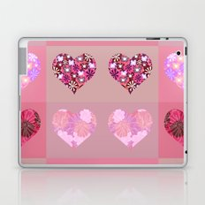 Love and hearts. Laptop & iPad Skin