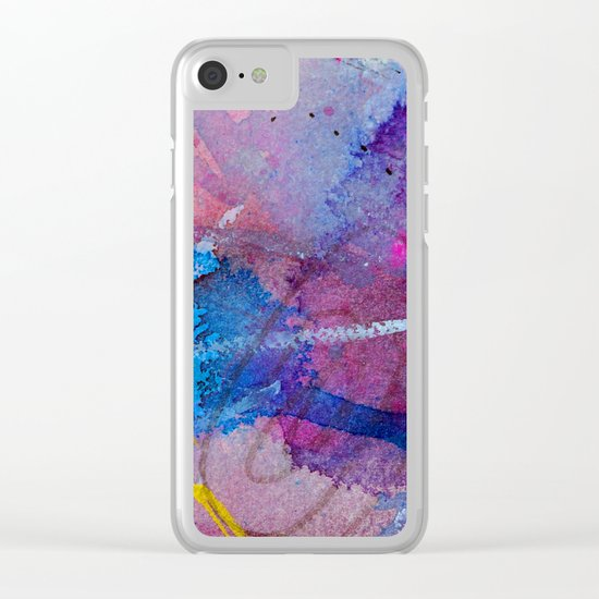 one came through Clear iPhone Case