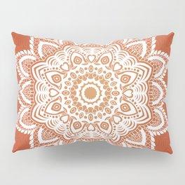 Tibetan mandala background Pillow Sham