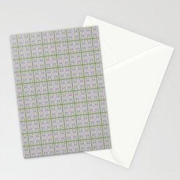 Spring Garden Violet Flowers Stationery Cards