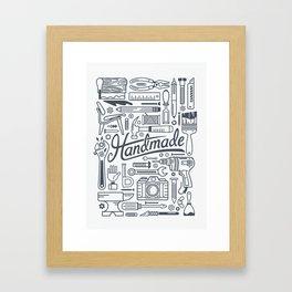 Make Handmade - White Framed Art Print
