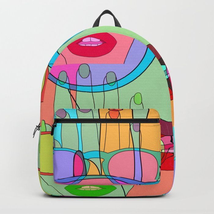 At a glance alien Backpack
