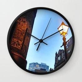 Cutting Corners Wall Clock