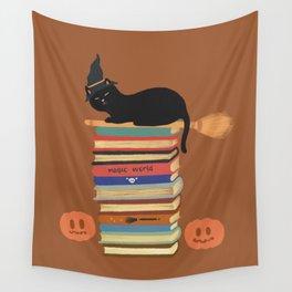 Hidden cat 47 Halloween magician  Wall Tapestry