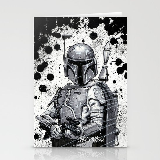 Boba Fett: Bounty Hunter Stationery Cards