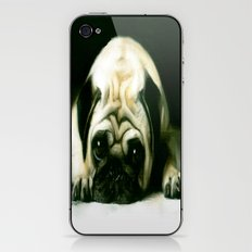 PUG POWER OUTAGE iPhone & iPod Skin