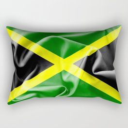 Jamaica Flag Rectangular Pillow