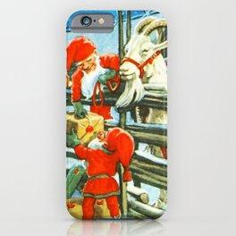 """Billy Goat Helper"" by Jenny Nystrom iPhone Case"