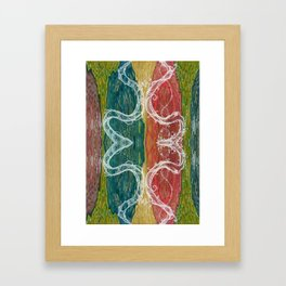 The Mutual Appreciation Paradox (Resistance of Magnetic Entanglement) (Reflection) Framed Art Print