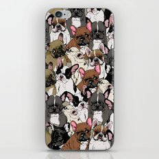 Social Frenchies iPhone & iPod Skin