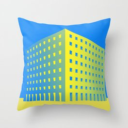 This is not a building Throw Pillow