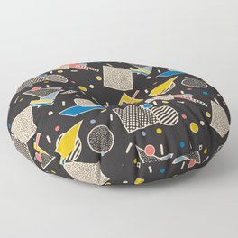 Memphis Inspired Design 8 Floor Pillow